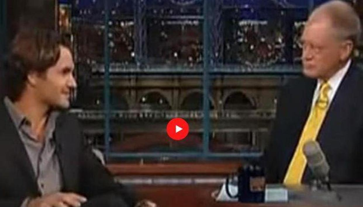 Roger Federer gives stirring prophecy in 2005 interview with David Letterman: Watch - Republic World