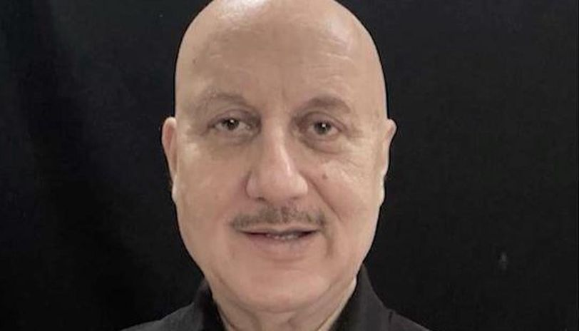 Anupam Kher's latest yoga pictures explains the hard work behind maintaining his cool