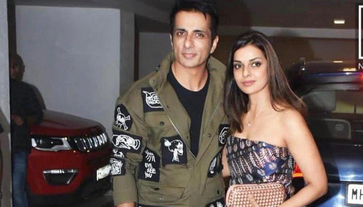 Sonu Sood pens heartfelt birthday wishes for wife, says 'love you loads for everything'
