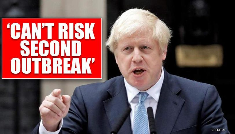 UK: Boris Johnson says Britain can't return to square one as it eases lockdown rules