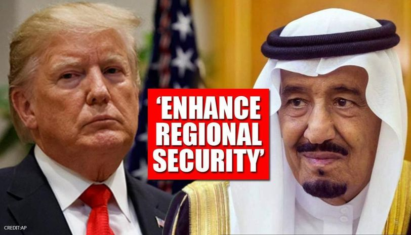 Trump welcomes Saudi's decision to open airspace, urges regional security