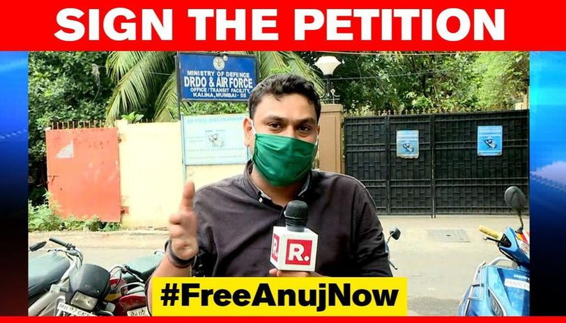 Republic Reporter Arrested How You Can Sign Freeanujnow Petition Demand His Release Republic World