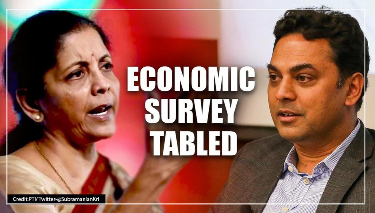 """Economic Survey 2020 projects GDP growth at 6-6.5% in FY21"""""""