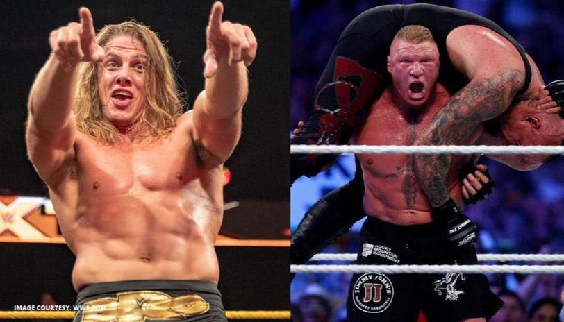 matt riddle and Brock Lesnar