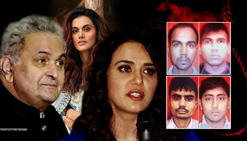 Nirbhaya case: Rishi Kapoor calls out 'shame' for delaying justice, Taapsee, others react