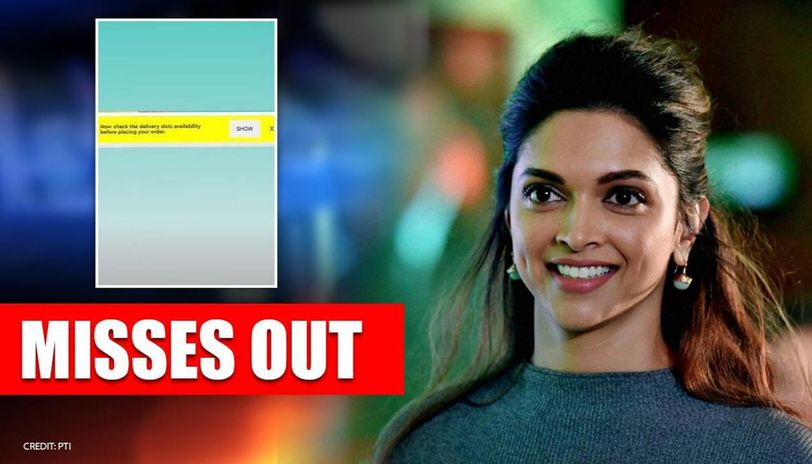 Deepika Padukone unhappy over failing to order groceries, shares step-by-step screenshots