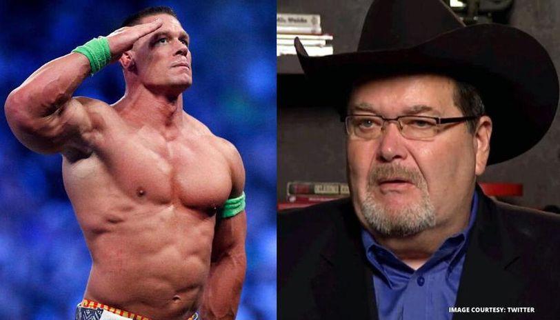 John Cena and Jim Ross