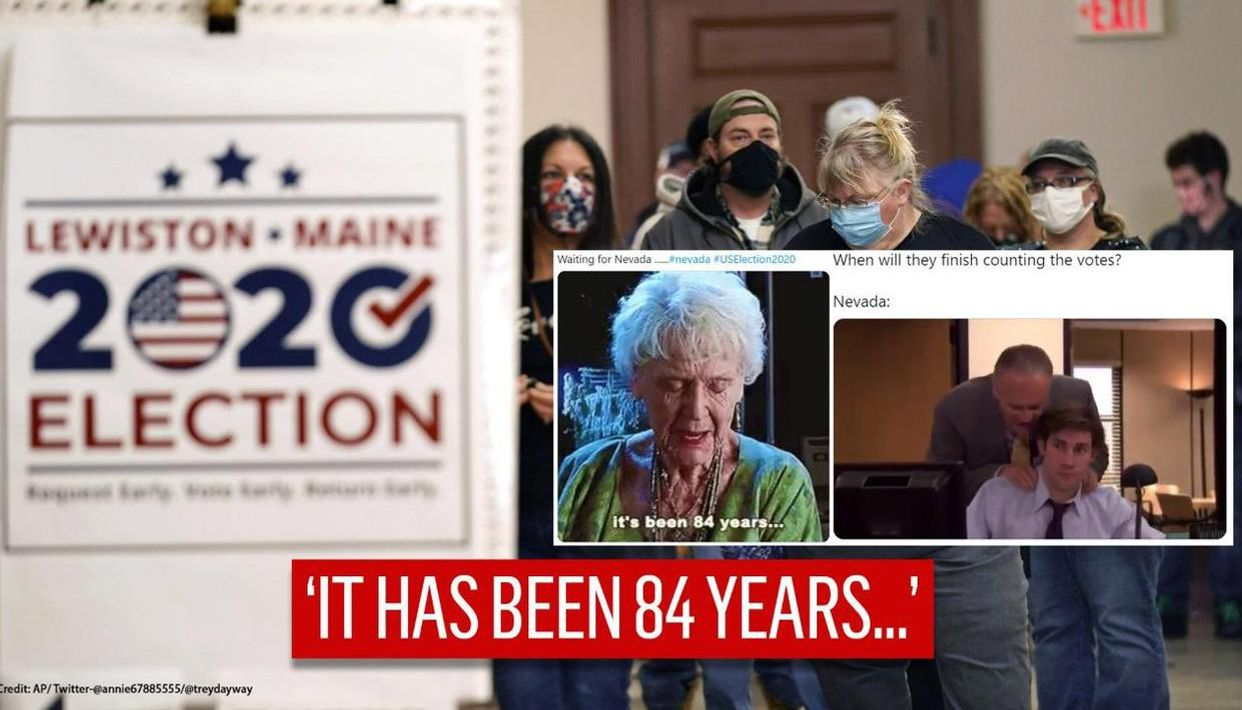 Us Election 2020 Tired Netizens Flood Twitter With Memes On Slow Counting In Nevada
