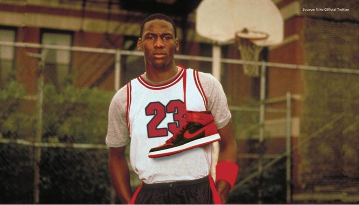Nike Air Jordan's journey from