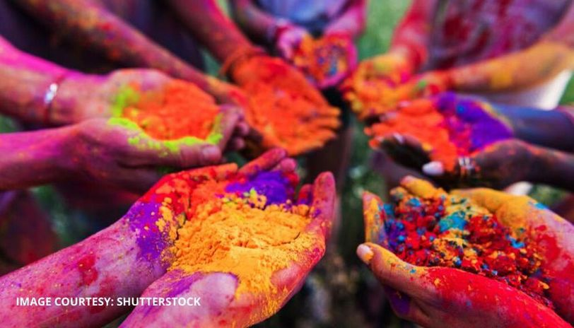why is holi celebrated in india