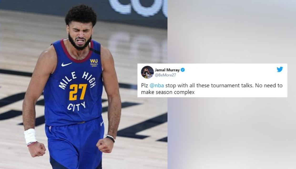 NBA midseason tournament gets flak from Jamal Murray and others
