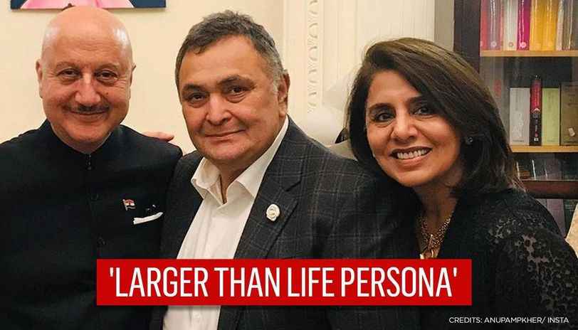 Anupam Kher pens note after meeting Neetu in Chandigarh, says ' triggered many memories'