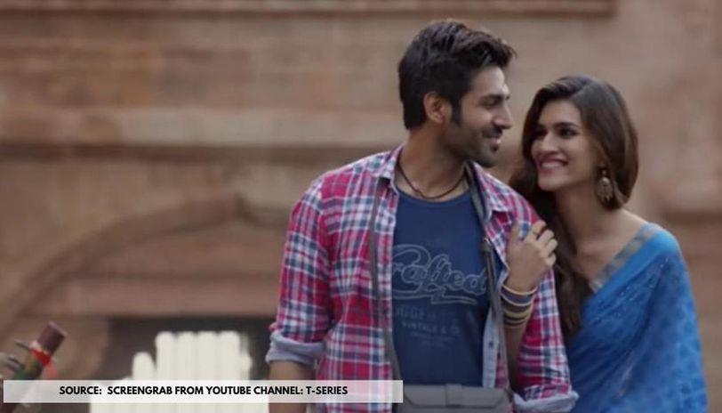 Kriti Sanon And Kartik Aaryan S Luka Chuppi Hilarious Scenes From The Film