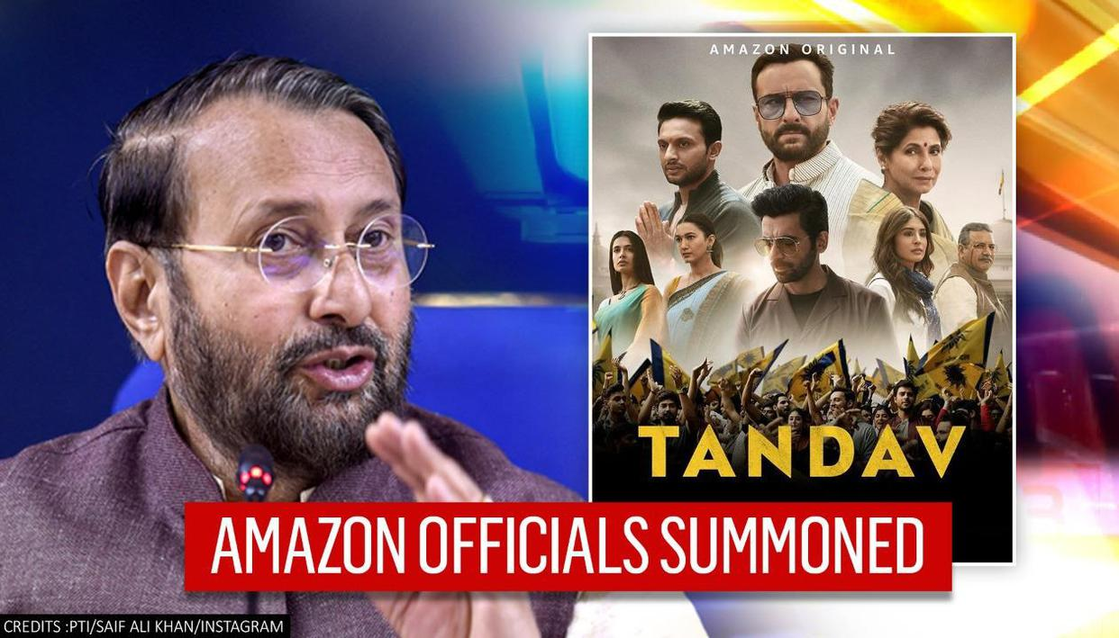 I&B Ministry summons Amazon India officials over controversy around web series 'Tandav' thumbnail