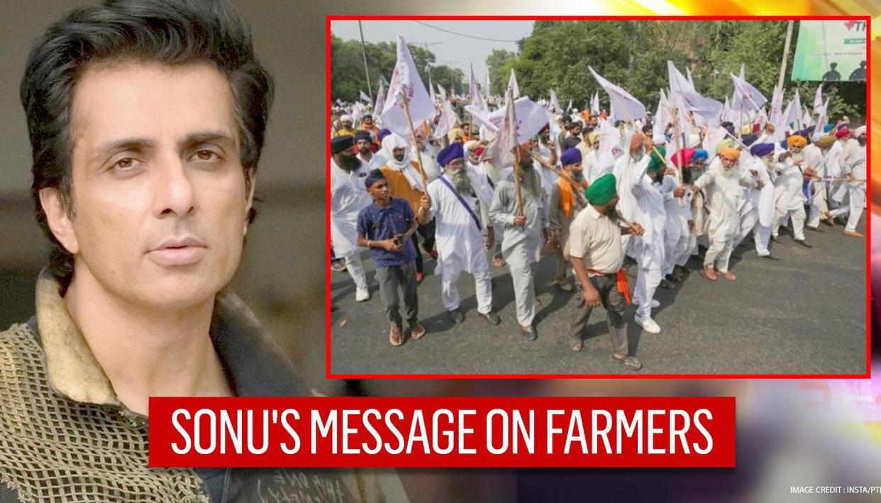 Sonu Sood hails farmers on Twitter amid their protests & stand-off with government
