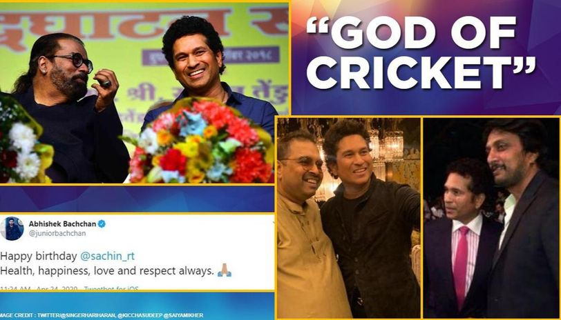 Sachin Tendulkar birthday: Veterans shower praises, Saiyami recalls 'short leg' moment