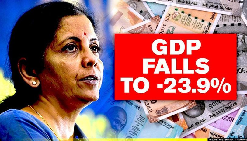 India's GDP crashes to -23.9% in Q1- FY21 due to COVID-19; worst contraction till date - Republic World