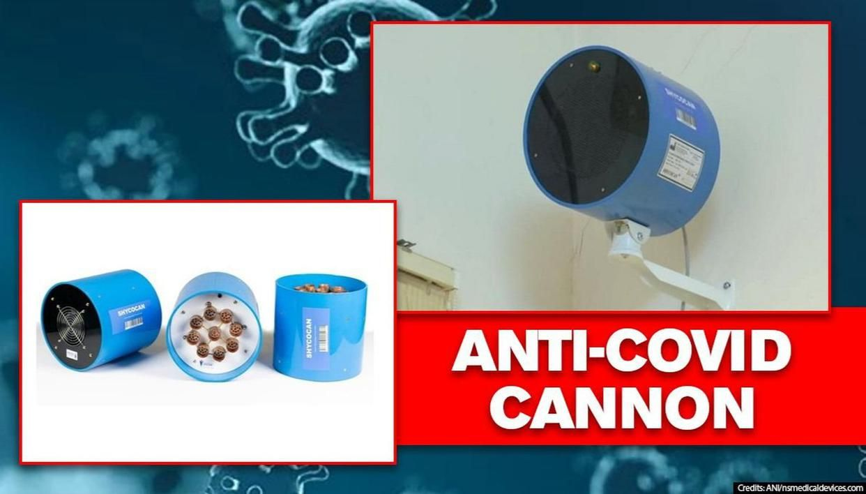 Indian-made device that can 'neutralise Covid' gets US FDA & EU nod; It's called Shycocan - Republic World