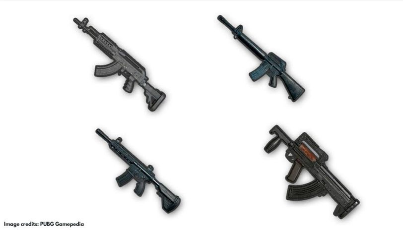 Best assault rifles in PUBG Mobile