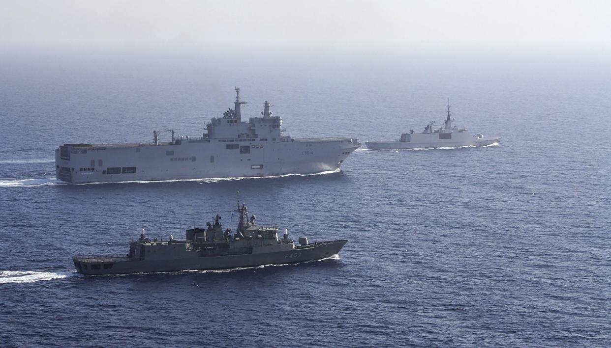 France sends warships to South China Sea to participate in combined military exercise