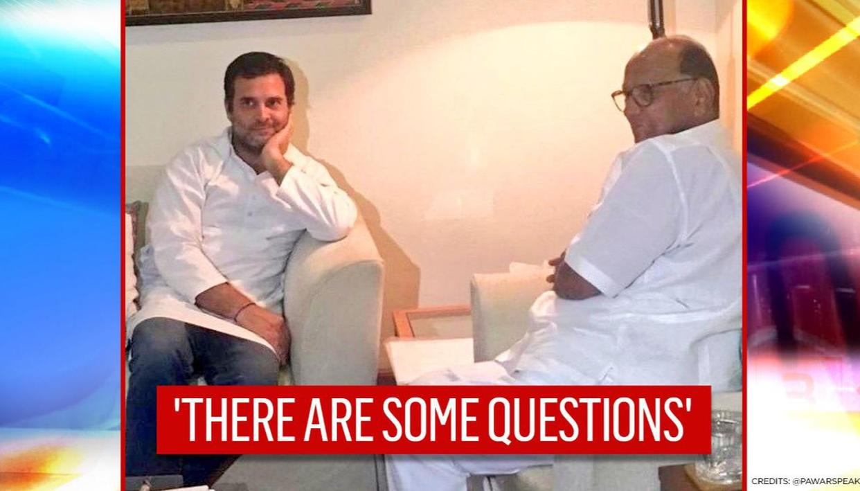 Rahul Gandhi lacks consistency: Sharad Pawar's unflattering assessment of Congress leader