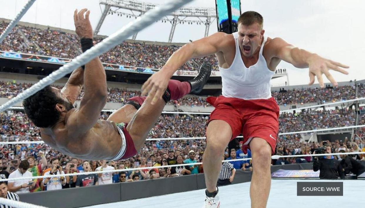 Rob Gronkowski 'close' to a deal with WWE
