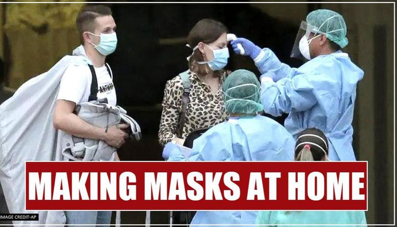 Sikh family based in US makes makes face masks at home