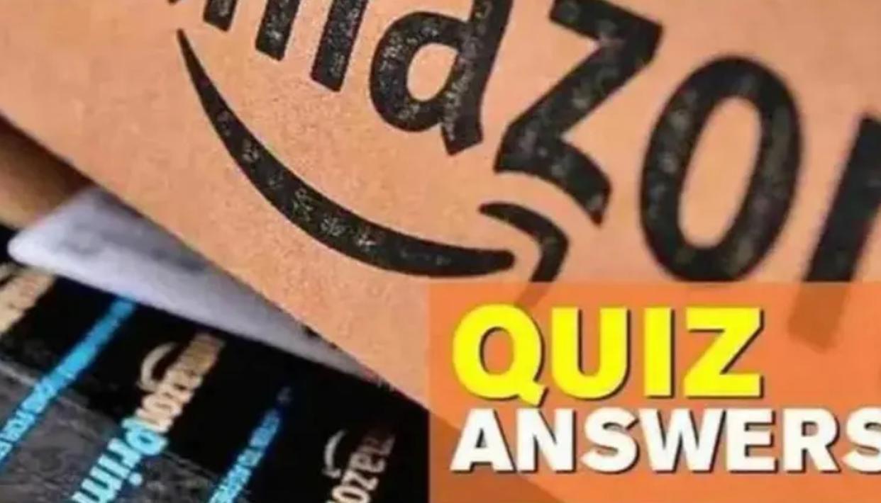 Amazon quiz answers today, November 14 2020: Amazon Rs.10,000 Amazon Pay quiz answer