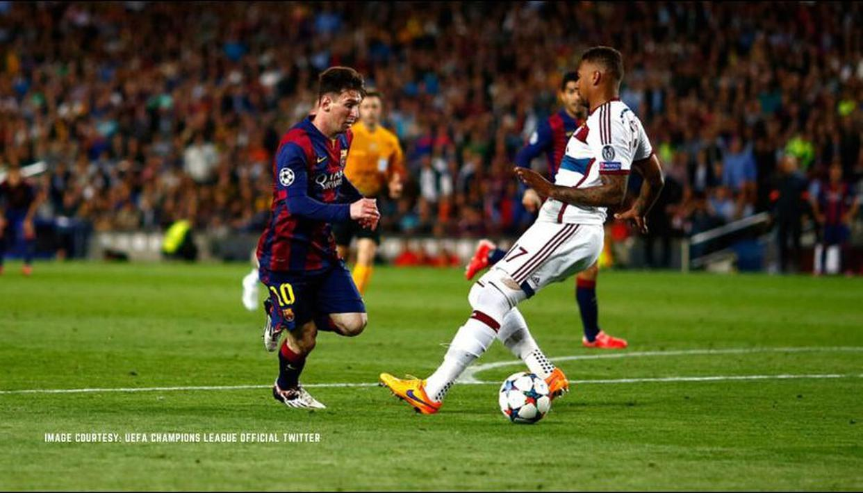 Lionel Messi Vs Jerome Boateng Bayern Munich Defender Recalls Embarrassing Nutmeg In Q A
