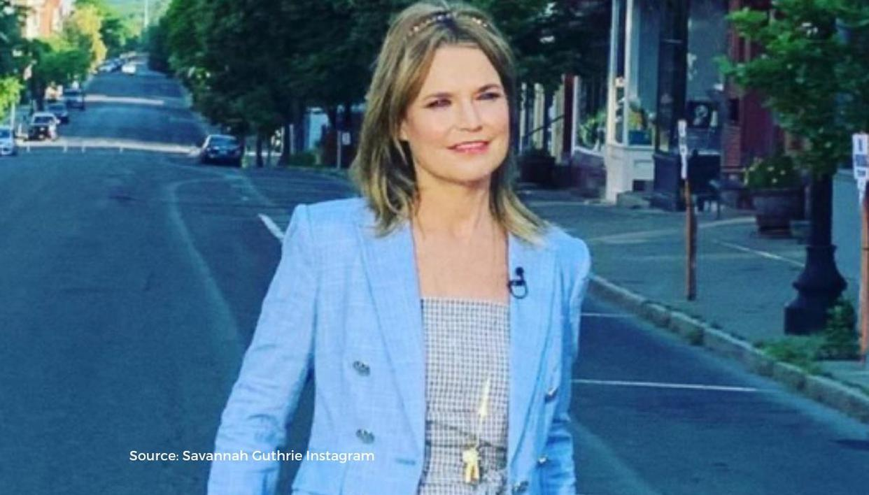 Savannah Guthrie's most-streamed Spotify song revealed; she says 'Not proud'