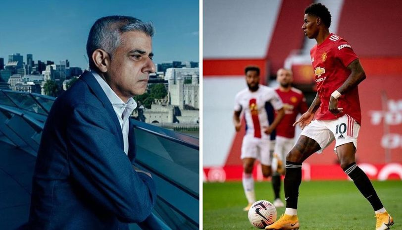 Marcus Rashford Thanks London Mayor And Liverpool Fan Sadiq Khan With A Powerful Message Republic World