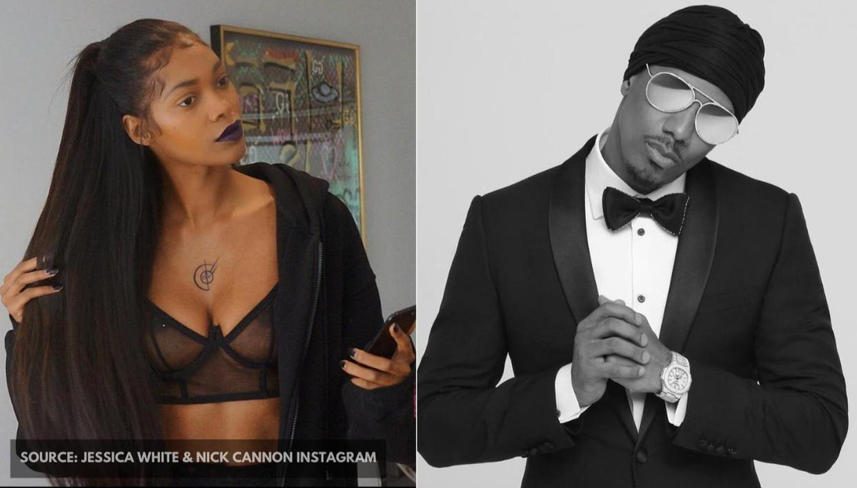 Nick Cannon S Ex Lover Jessica White Slams Him For Hiding Brittany S Second Pregnancy