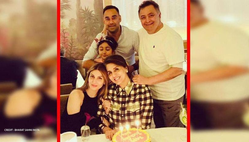 Rishi Kapoor's son-in-law Bharat Sahni shares throwback pictures in remembrance