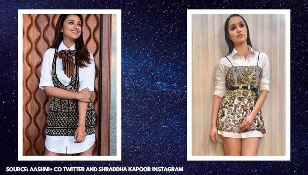Shraddha Kapoor and Parineeti Chopra: Who rocked 'dress over shirt' look perfectly? - Republic World