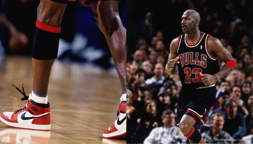 Perder Médico Buscar a tientas  Michael Jordan's autographed, game-worn Nike Air Jordan 1s from 1985 sold  for record $560k
