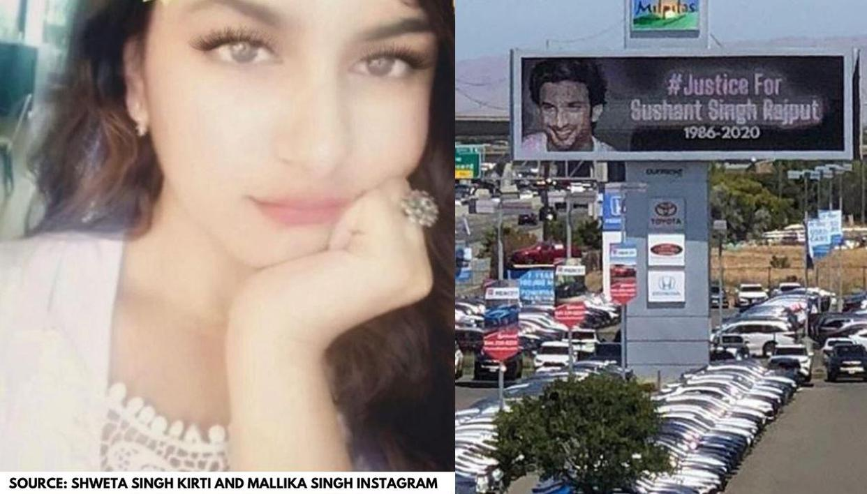 Sushant Singh Rajput's niece reacts to his photo on California Billboard; See post - Republic World