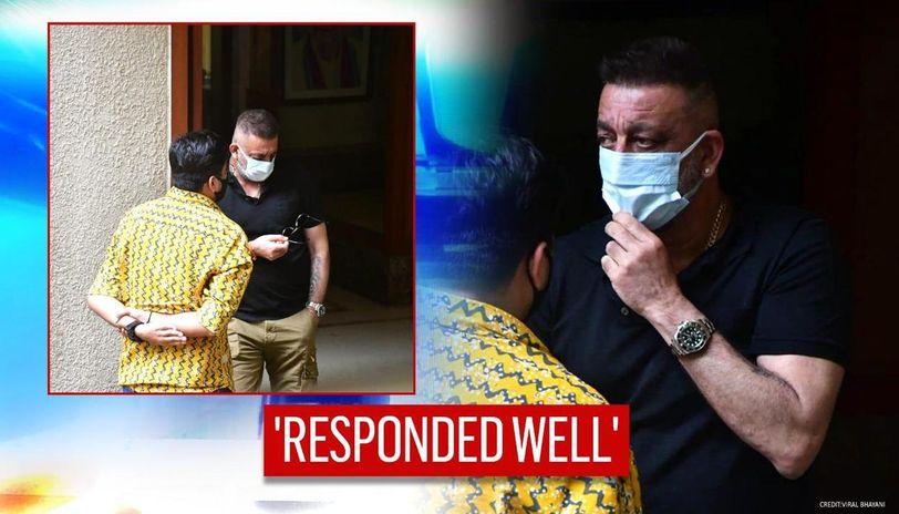 Sanjay Dutt responding 'very well' to treatment: Family ...