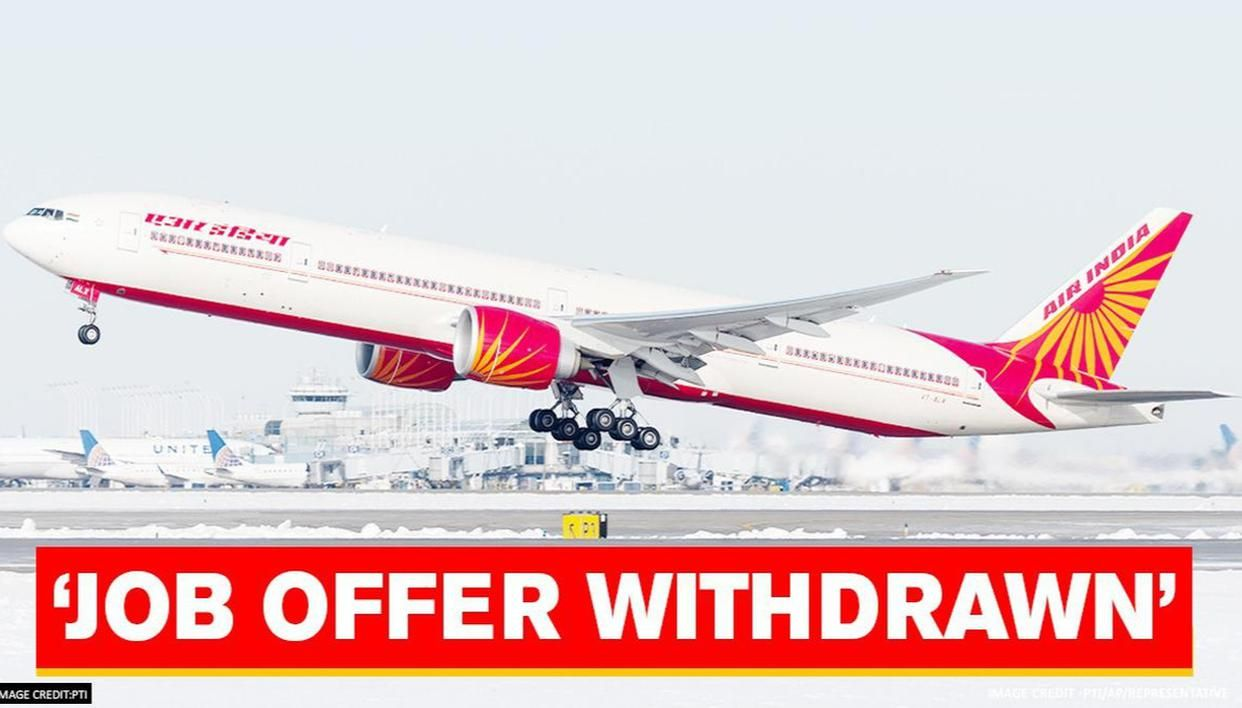 Air India withdraws job offers for 180 trainees amid slowdown due to Coronavirus pandemic - Republic World