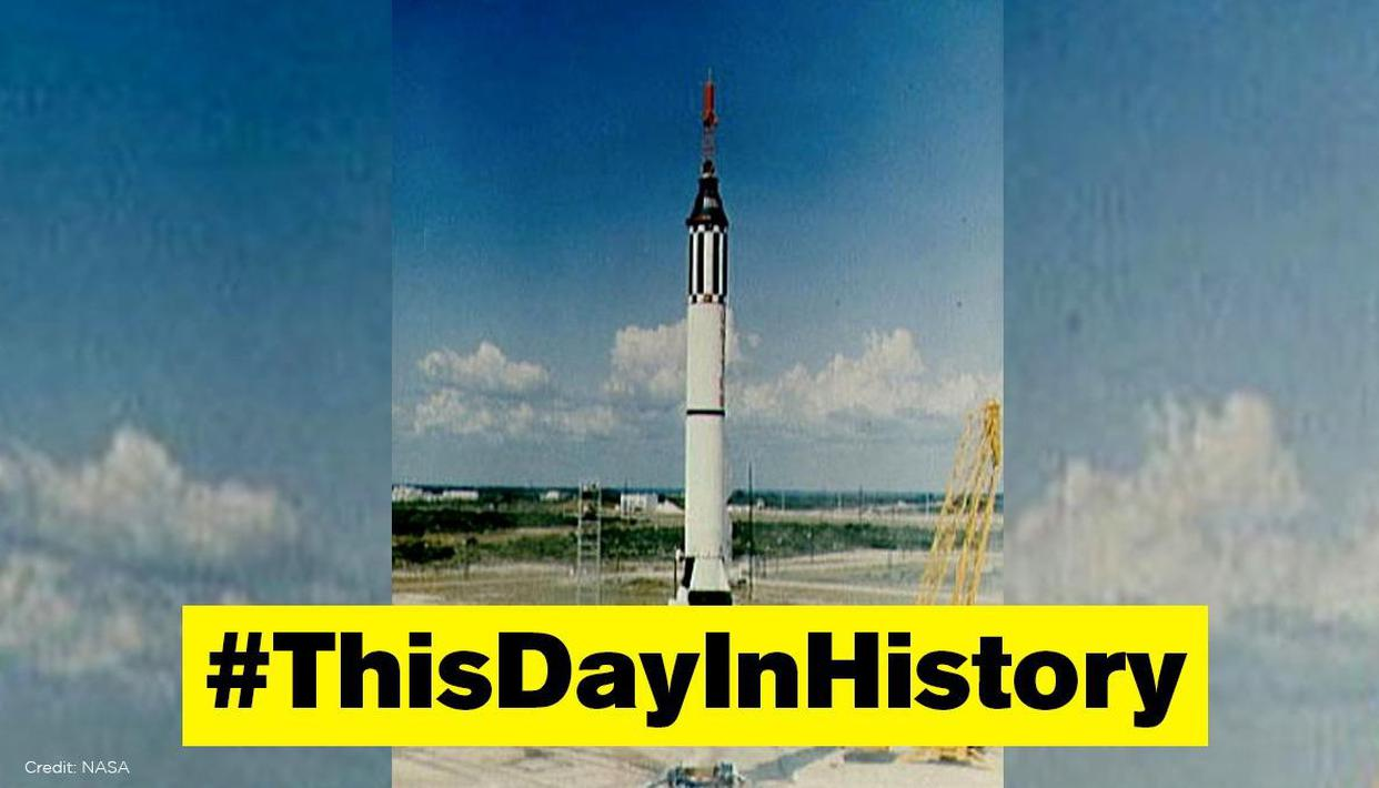 NASA launched first ever Mercury spacecraft Atlas 4 (MA-4) on this day in 1961