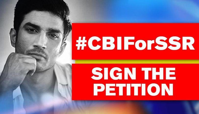 Sushant Death Case Sign The Cbiforssr Petition Here S How Republic World