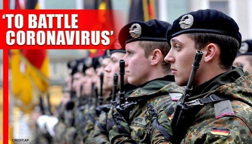 Coronavirus outbreak: Germany calls up reservist to battle pandemic