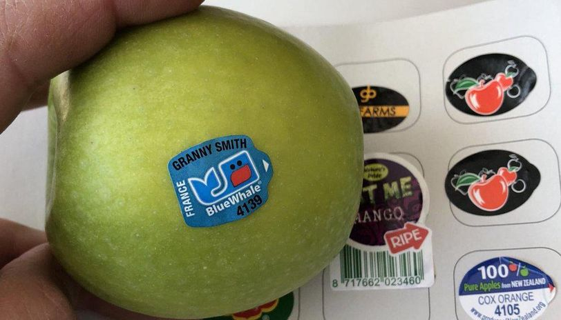 Don't paste stickers on fruits, C'garh FDA tells sellers