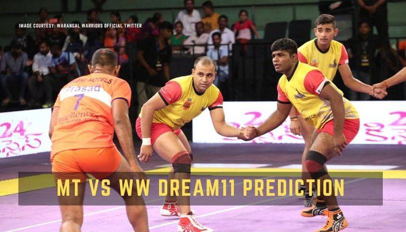 mt vs ww dream11