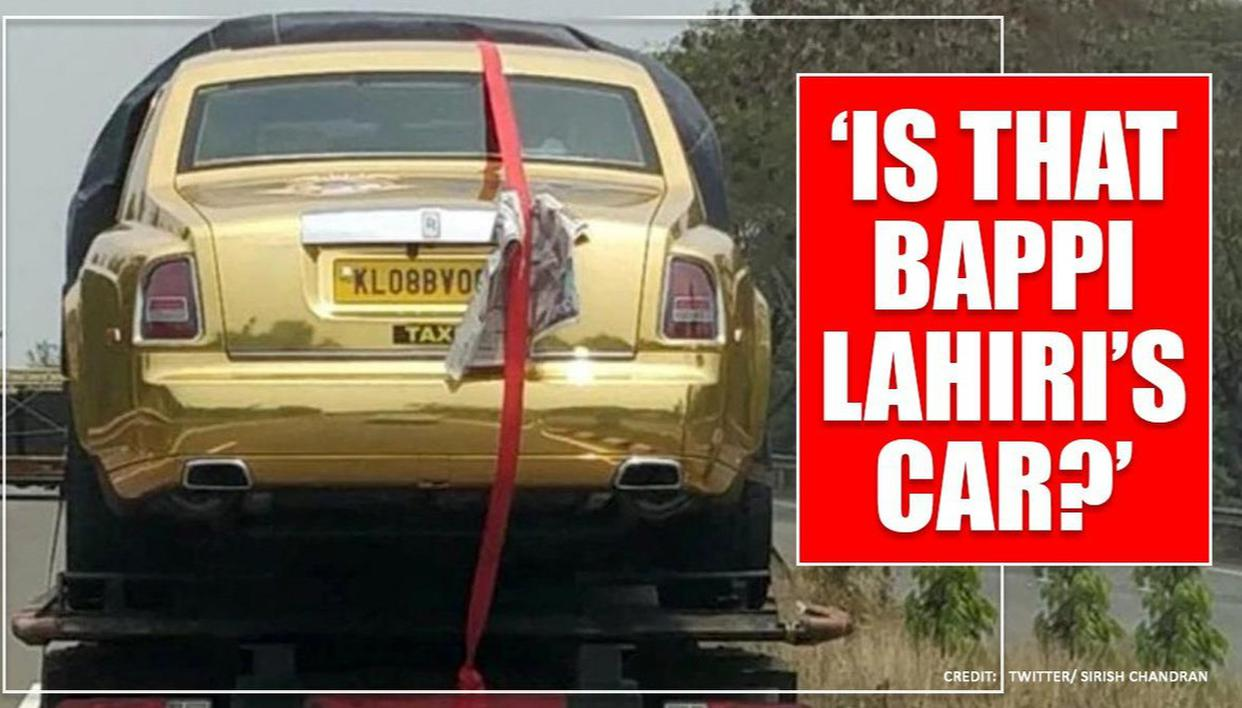 Kerala Gold Rolls Royce Cab Spotted Netizens Shocked To See Rarest Of The Rare Things