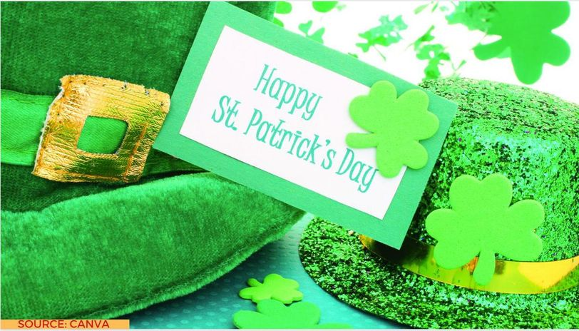 st patrick's day messages