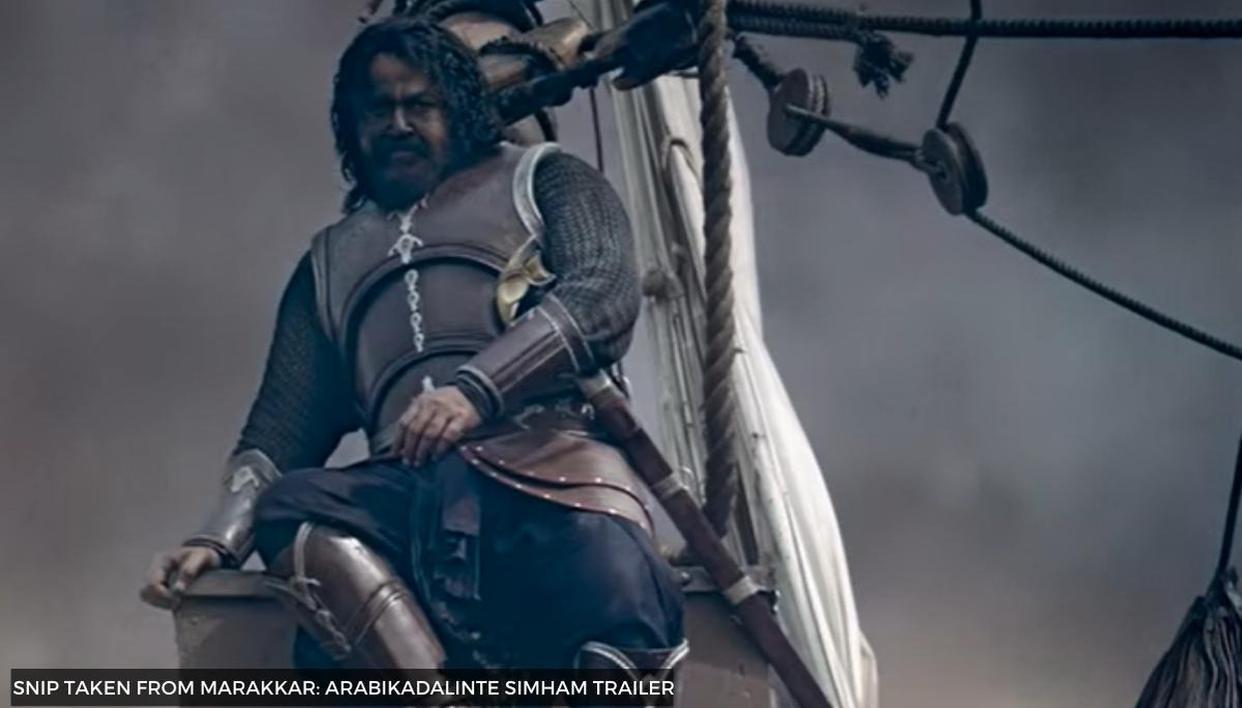 Mohanlal's 'Marakkar: Arabikadalinte Simham' trailer promises grand sets, stunning visuals
