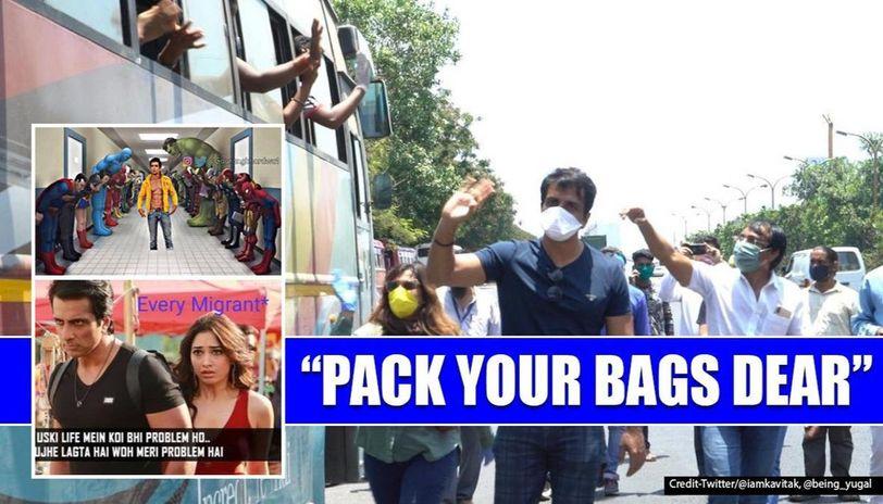 Sonu Sood assures help to stranded Twitter users, memes hailing his efforts go viral