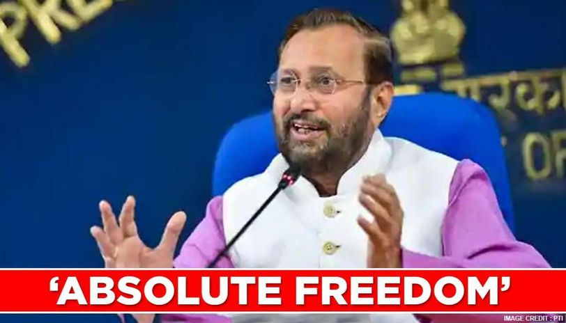 Media in India enjoy absolute freedom': Prakash Javadekar on 'World Press  Freedom Day' - Republic World