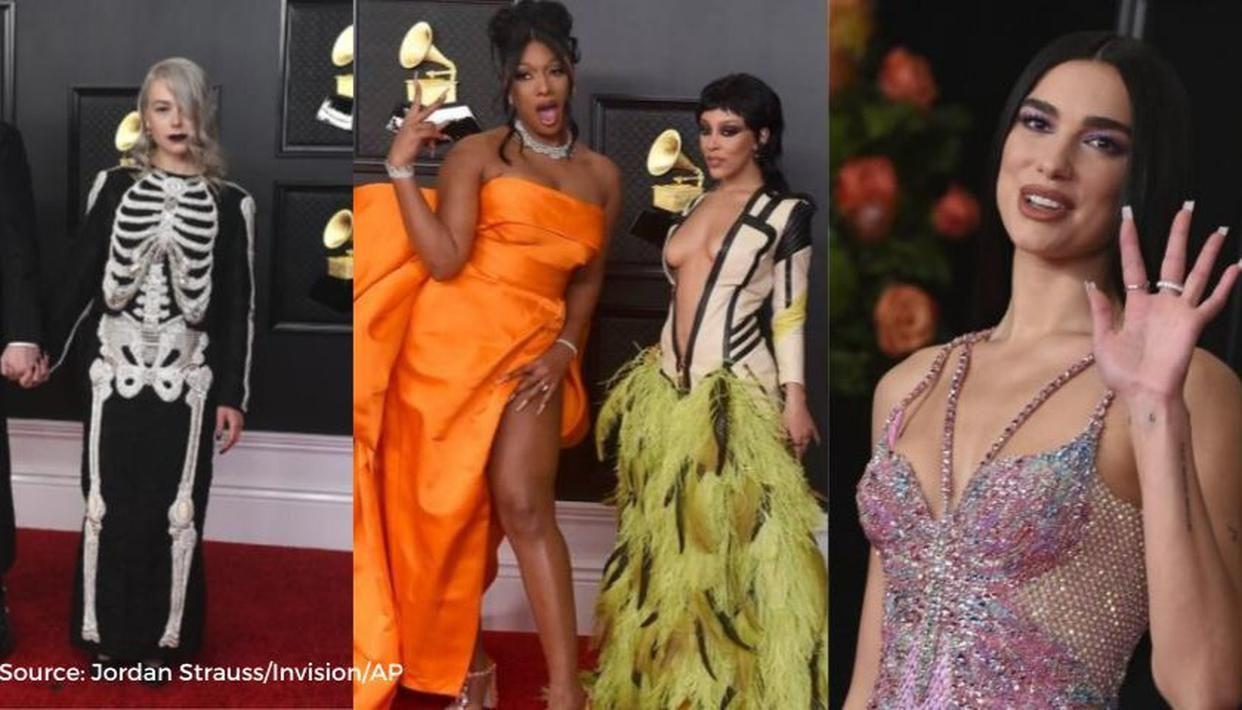 Grammy 2021: Dua Lipa to Doja Cat; best looks from the big night's red carpet