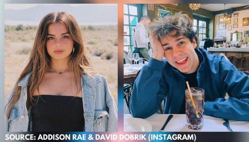 are david dobrik and addison rae dating